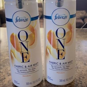 Febreze one fabric and air mist Refil (2)